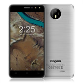 "NEW VKWORLD CAGABI ONE SILVER 1GB 8GB QUAD CORE 1.3GHz 5.0"" HD SCREEN ANDROID 6.0 SMARTPHONE"