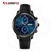 Lemfo LEM5 Smart Watch Android 5.1 OS 1GB+8GB SIM card GPS WiFi For Android IOS - Black