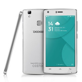 """doogee x5 max pro 2gb 16gb white 5.0"""" hd screen android 6.0 4g lte smartphone"""