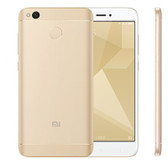 "NEW XIAOMI REDMI 4X PRO 3GB 32GB GOLD OCTA CORE 5"" HD SCREEN ANDROID 6.0 4G LTE SMARTPHONE"