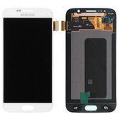 NEW ORIGINAL LCD DISPLAY DIGITIZER TOUCH SCREEN ASSEMBLY FOR SAMSUNG GALAXY S6 WHITE