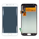 NEW ORIGINAL LCD DISPLAY DIGITIZER TOUCH SCREEN ASSEMBLY FOR SAMSUNG GALAXY S6 EDGE WHITE