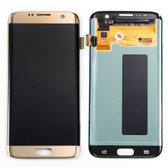 NEW ORIGINAL LCD DISPLAY DIGITIZER TOUCH SCREEN ASSEMBLY FOR SAMSUNG GALAXY S7 EDGE GOLD