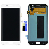NEW ORIGINAL LCD DISPLAY DIGITIZER TOUCH SCREEN ASSEMBLY FOR SAMSUNG GALAXY S7  WHITE
