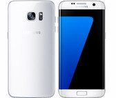 "NEW SAMSUNG GALAXY S7 EDGE G935F WHITE 4GB 32GB OCTA CORE 5.5"" HD SCREEN ANDROID 6.0 4G LTE SMARTPHONE"