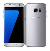 "NEW SAMSUNG GALAXY S7 EDGE G935F SILVER 4GB 32GB OCTA CORE 5.5"" HD SCREEN ANDROID 6.0 4G LTE SMARTPHONE"