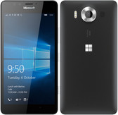 "NEW MICROSOFT LUMIA 950 3GB/32GB BLACK HEXA CORE 5.2"" HD SCREEN MICROSOFT WINDOWS 10 4G LTE SMARTPHONE"