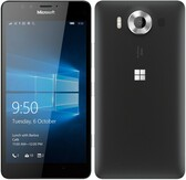 "microsoft lumia 950 3gb/32gb black 5.2"" screen microsoft windows lte smartphone"