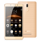 "leagoo m8 pro 2gb/16gb gold quad core 5.7"" screen android 6.0 4g lte smartphone"