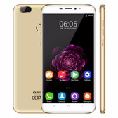 "oukitel u20 plus 2gb 16gb gold quad core 5.5"" screen android 4g lte smartphone"