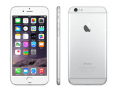 "apple iphone 6s unlocked silver 2gb/128gb 1.8ghz 4.7"" hd screen 4g smartphone"