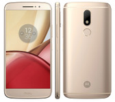 "NEW MOTOROLA MOTO M XT1662 4GB 32GB GOLD OCTA CORE 2.2GHz 5.5"" HD SCREEN ANDROID 6.0 4G LTE SMARTPHONE"