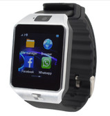 "NEW ZOMOEA G1 SILVER GSM 1.54"" SCREEN BLUETOOTH GT08 ANDROID PHONE SUPPORT SMART WATCH"