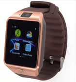 "NEW ZOMOEA G1 GOLD GSM 1.54"" SCREEN BLUETOOTH GT08 ANDROID PHONE SUPPORT SMART WATCH"