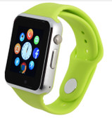 "NEW ZOMOEA GREEN BLUETOOTH 1.54"" SCREEN GT08 ANDROID PHONE SUPPORT SMART WATCH"