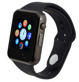"zomoea grey bluetooth 1.54"" screen gt08 android phone support smart watch"