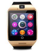 NEW ZOMOEA Q18 PLUS GOLD SUPPORT SIM SD CARD BLUETOOTH SPORT PEDOMETER ANDROID PHONE SMARTWATCH