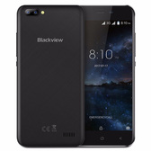 "NEW BLACKVIEW A7 BLACK 1GB 8GB QUAD CORE DUAL SIM 5"" HD SCREEN ANDROID 7.0 SMARTPHONE"