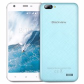 "NEW BLACKVIEW A7 BLUE 1GB 8GB QUAD CORE DUAL SIM 5"" HD SCREEN ANDROID 7.0 SMARTPHONE"