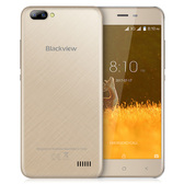 "blackview a7 gold 1gb 8gb quad core dual sim 5"" hd screen android 7.0 smartphone"