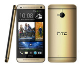 "htc one m7 2gb/32gb gold quad core 4.7"" hd screen android 4g lte smartphone"