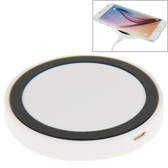 qi standard wirless charging pad white black iphone 8 samsung others smartphones