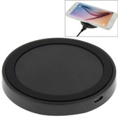 qi standard wirless charging pad grey black iphone 8 samsung others smartphones