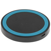 NEW QI STANDARD WIRLESS CHARGING PAD BLACK + BLUE FOR iPHONE 8/8 PLUS SAMSUNG AND OTHERS SMARTPHONES