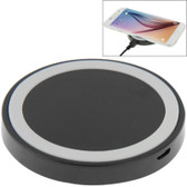 qi standard wirless charging pad black white iphone 8 samsung others smartphones