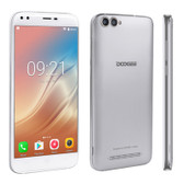 "NEW DOOGEE X30 SILVER QUAD CORE 2GB/16GB 5.5"" HD SCREEN ANDROID 7.0 SMARTPHONE"