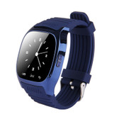 NEW M26 BLUE WITH PEDOMETER SLEEPING MONITOR CALCULATOR CALL REMINDER CAMERA FUNCTION SUPPORT SMARTWATCH