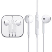 high quality earpods wired control mic white iphone samsung htc other smartphones