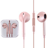 NEW HIGH QUALITY EARPODS WITH WIRED CONTROL MIC ROSE GOLD FOR iPHONE SAMSUNG HTC OTHER SMARTPHONES