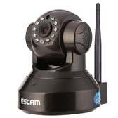 escam pearl qf100 720p 1.0mp wifi pan tilt h.264 onvif 3.6mm dome camera tf card