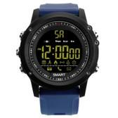 ex17 waterproof bluetooth blue 50m pedometer data analysis camera smart watch