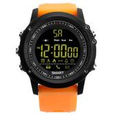 ex17 waterproof bluetooth 4.0 orange 50m pedometer data analysis camera smartwatch