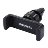 NEW HAWEEL 360 ROTATION PORTABLE AIR VENT CAR MOUNT HOLDER BLACK FOR iPHONE, SAMSUNG, HUAWEI, XIAOMI, LG, SONY, HTC AND OTHER SMARTPHONES
