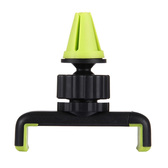 NEW HAWEEL 360 ROTATION PORTABLE AIR VENT CAR MOUNT HOLDER GREEN FOR iPHONE, SAMSUNG, HUAWEI, XIAOMI, LG, SONY, HTC AND OTHER SMARTPHONES
