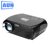 NEW AUN GP100 PRO ANDROID VERSION 3200 LUMENS LED 1280x800 ANDROID 6.0.1 MULTIMEDIA VIDEO PROJECTOR HOME THEATER WITH REMOTE CONTROLLER, 1GB 8GB WIFI BT