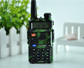 BAOFENG WALKIE TALKIE COMOUFLAGE RADIO TRANSCIVER 128CH 5W VHF&UHF HANDHELD UV 5R FOR HUNTING