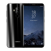 "NEW HOMTOM S8 BLACK 4GB 64GB OCTA CORE DUAL CAMERA 16MP + 5MP 5.7"" HD SCREEN ANDROID 7.0 4G LTE SMARTPHONE"