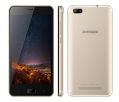 "NEW DOOGEE X20 GOLD 2GB 16GB QUAD CORE DUAL CAMERA 5.0MP + 5.0MP 5.0"" HD SCREEN ANDROID 7.0 SMARTPHONE"