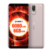 "NEW ULEFONE POWER 3 GOLD 6GB 64GB OCTA CORE DUAL CAMERA 21MP 6.0"" HD SCREEN ANDROID 7.1 4G LTE SMARTPHONE"