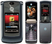 NEW ORIGINAL IN BOX MOTOROLA V9 BLACK UNLOCKED SMARTPHONE + FREE GIFTS