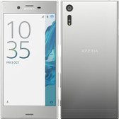 "sony xperia xz f8331 silver 3gb 32gb quad core 5.2"" screen android lte smartphone"