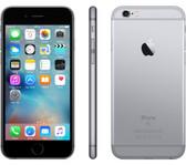 "apple iphone 6s 2gb 64gb space grey 4.7"" hd screen ios 11 lte smartphone"