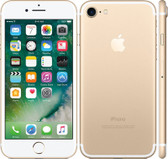 "apple iphone 7 gold 2gb 128gb quad core 4.7"" hd screen ios 4g lte smartphone"