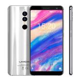 """umidigi a1 pro silver 3gb 16gb quad core 5.5"""" screen android 8.1 4g lte smartphone"""