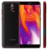"homtom s12 quad core 1gb 8gb red 5.0"" screen dual siim android 6.0 smartphone"