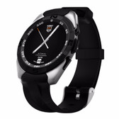 no.1 g5 silver heartrate monitor fitness tracker call sms android ios smartwatch